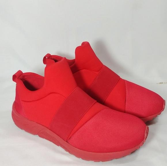 f5320661eb0 Steve Madden Hueber Red Sneakers